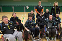 Ospreys Wheelchair Rugby Players